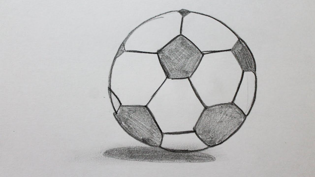 Comment faire un ballon de foot - Dessin de ballon de foot ...